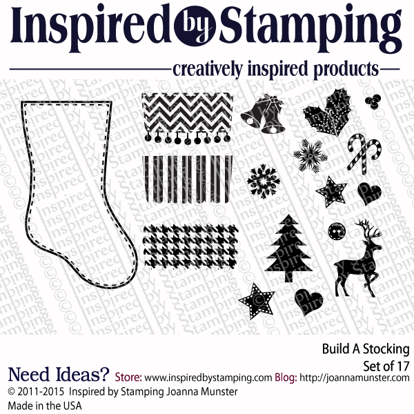 Inspired by Stamping Build A Stocking stamp set
