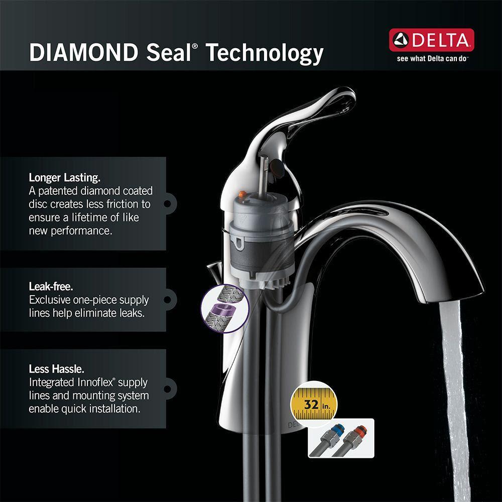 Delta Essa Touch2o Technology Single Handle Bar Faucet In Venetian