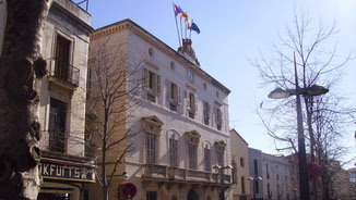 Edifici de l'ajuntament de Mataró