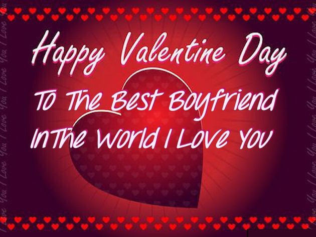 Happy Valentines Day To My Boyfriend Image Quote Pictures Photos