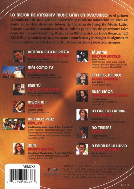 Lo Mejor De Integrity Music Latin Ratdvd Descargar