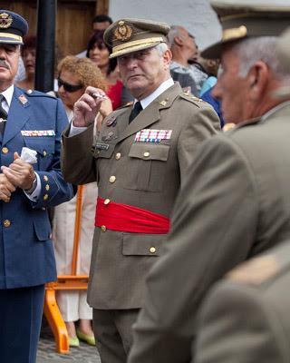 El general Francisco Martín Alonso. - LAS PROVINCIAS / DLP