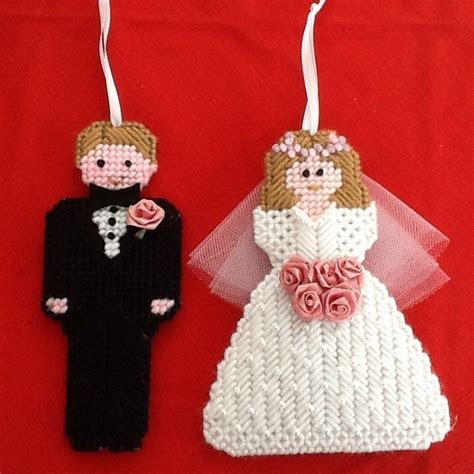 Details about Fashion Bride and Groom Silhouette With Gun