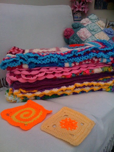 Kimbles Sunshine Squares! Aren't they bright and sunny! Thank you!