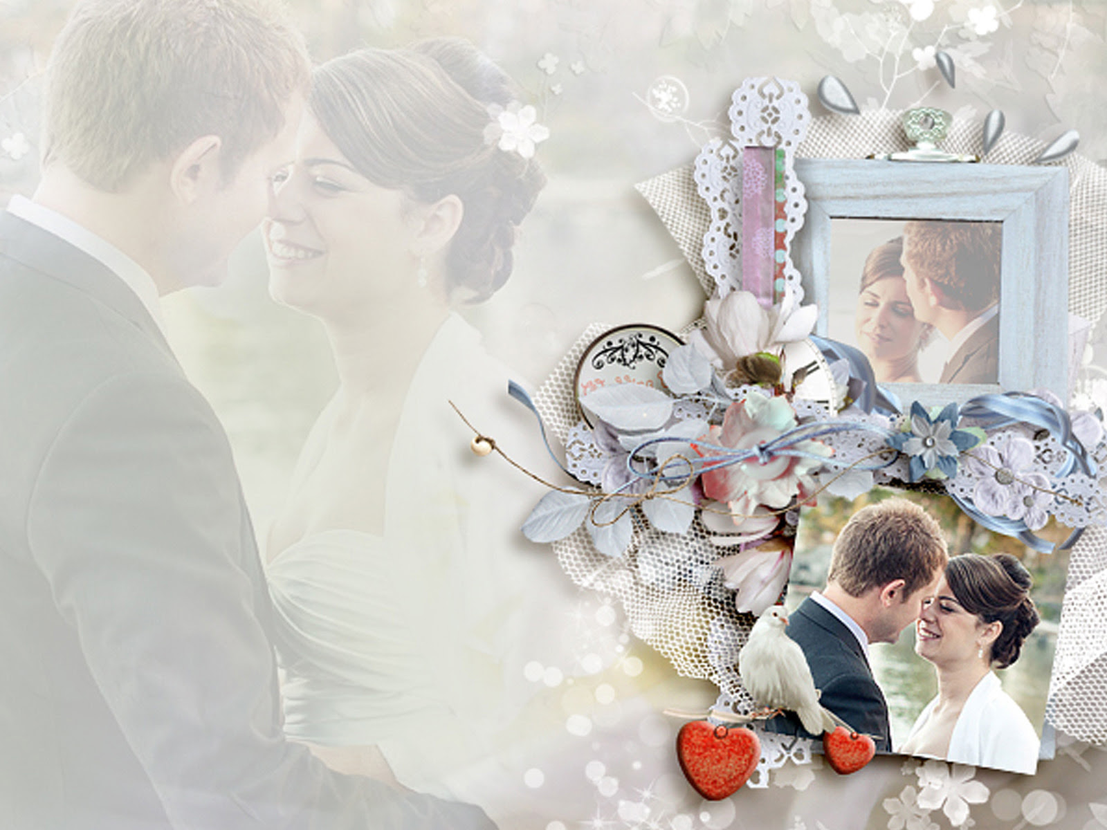 Special Wedding Day Free Ppt Backgrounds For Your Powerpoint Templates