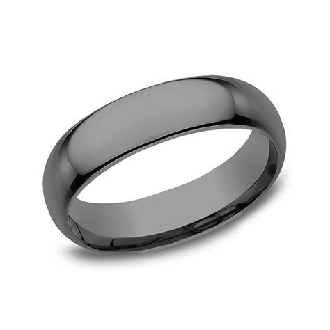 Tantalum Comfort fit Design Wedding Band CF165TA07.5