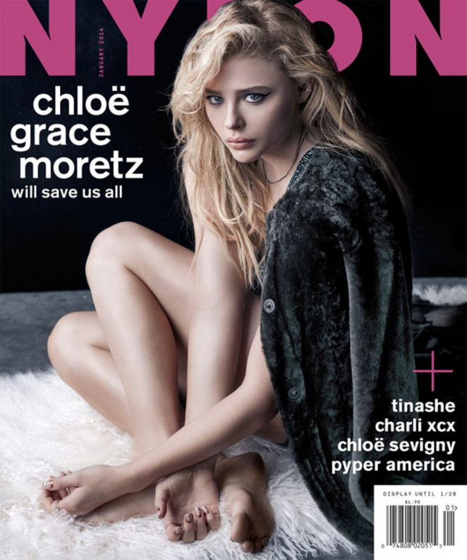 Chloe Moretz - Nylon Magazin (December 2015 /January 2016)