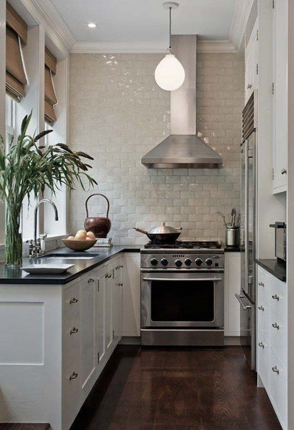 19 Practical U-Shaped Kitchen Designs for Small Spaces ...
