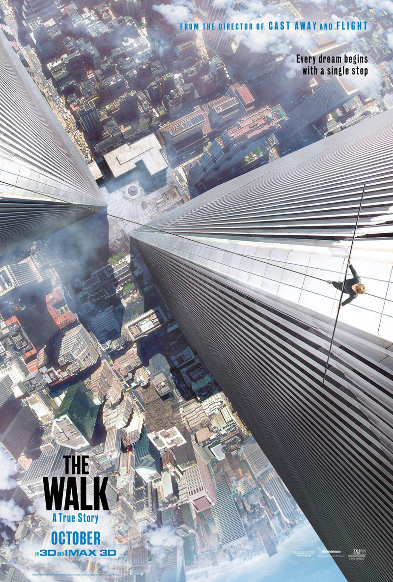 The Walk - Movie Poster - Top 10 Films 2015
