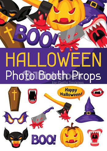 Halloween Photo Booth Props Accessories For Festival And Party