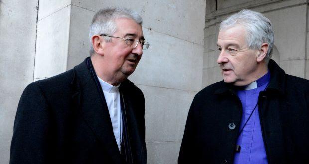 Archbishop Diarmuid Martin and Dr Michael Jackson, Church of Ireland Archbishop of Dublin. File photograph: Cyril Byrne/The Irish Times