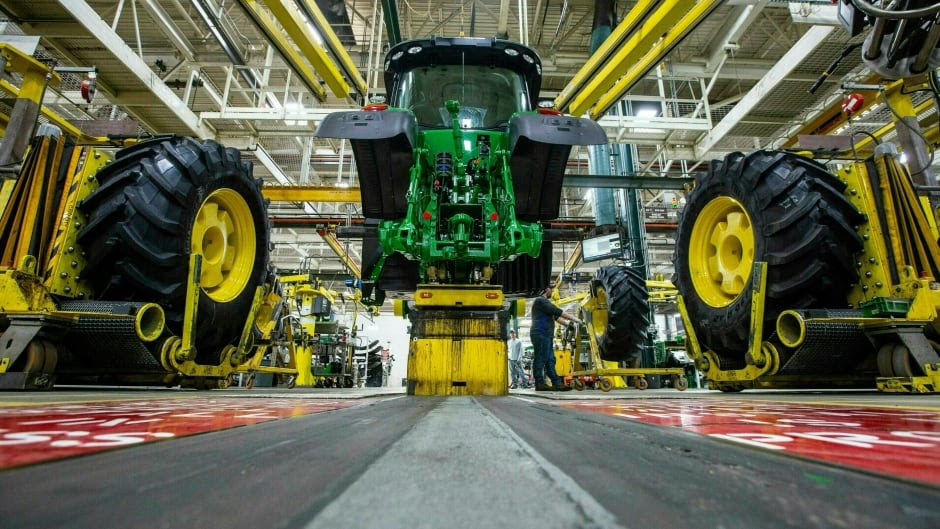 Thousands of U.S. workers go on strike at agricultural giant Deere