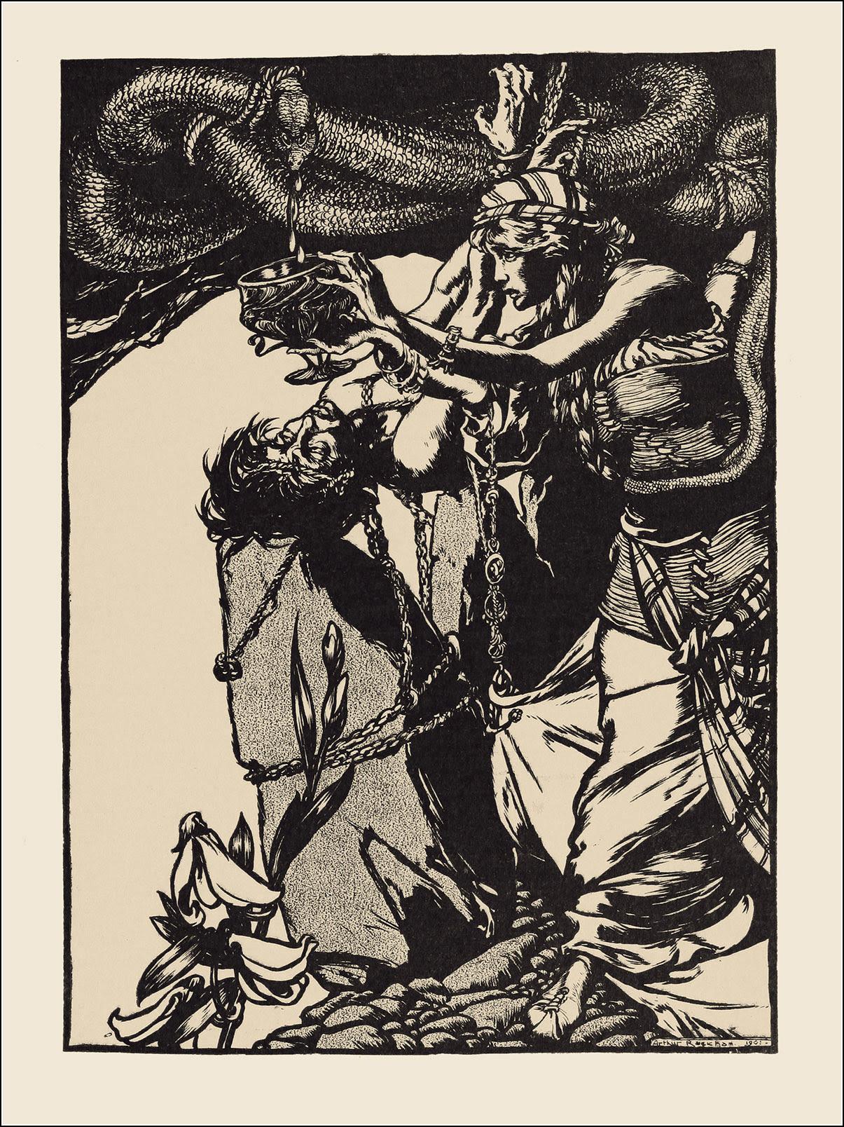 Arthur Rackham, The land of enchantment