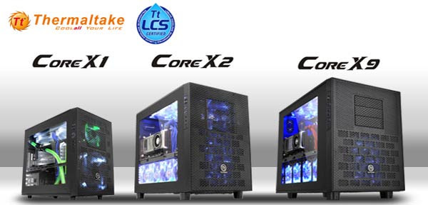 Thermaltake Launches Core X1 X2 X9 Cube Case Series Chassis News Hexus Net