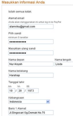 Daftar Paypal image