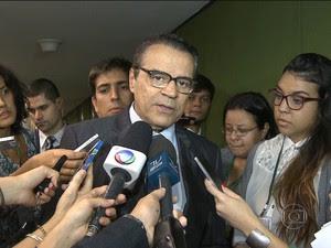Dilma Rousseff nomeia Henrique Eduardo Alves para o Ministério do Turismo/GNews (Foto: Reprodução GloboNews)