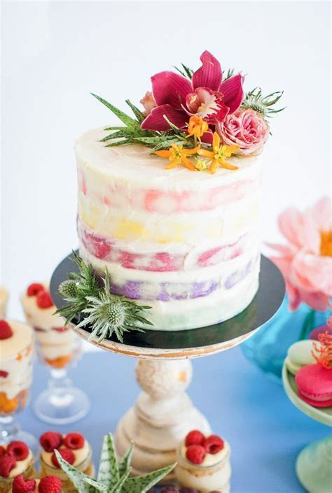 boho cake   Wedding cakes   Pinterest   Cakes, Simple and Boho