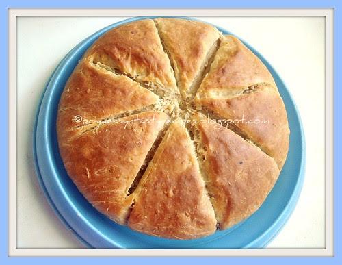 Yeasted Banana and Cardamom Bread