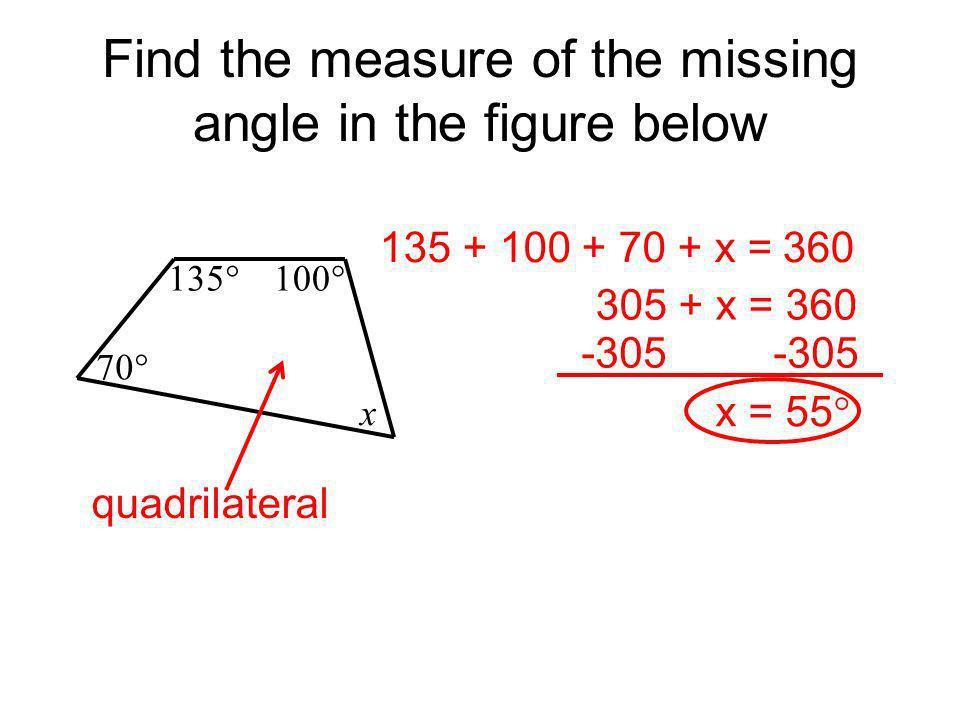 Find+the+measure+of+the+missing+angle+in+the+figure+below