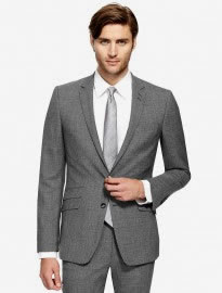 Autograph Grey Slim Fit Suit