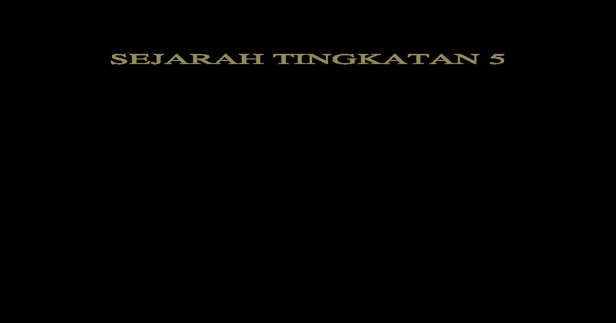 Pengenalan Folio Sejarah Tahun 5 Perjuangan Tokoh Tempatan Malayirka