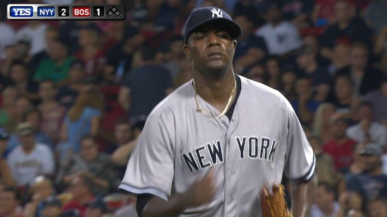 Michael Pineda y Yankees emparejaron la serie en Boston