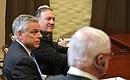 Встреча сгосударственным секретарём Соединённых Штатов Америки Майком Помпео.
