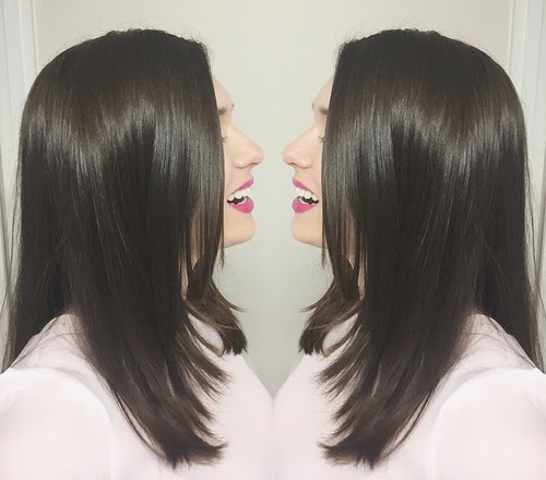 Face-Framing Layered Cut