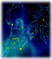 Ο αστερισμός του Ωρίωνα συμβολίζει τον αρχαίο Κυνηγό.