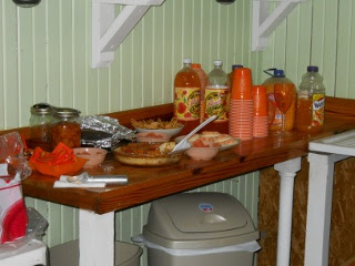 Desserts and Drinks for The 12th Orange Day, 2012