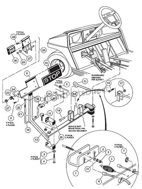 Club Car Parts Diagram | Wiring Diagram And Fuse Box Diagram