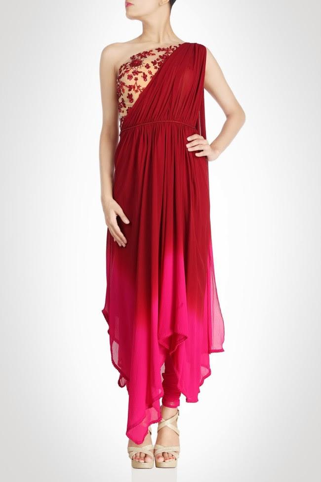 Beautiful-Bridal-Wedding-Lehanga-Choli-Saree-Anarkali-Churidar-New-Fashion-Dress-by-Designer-Surily-Goel-6