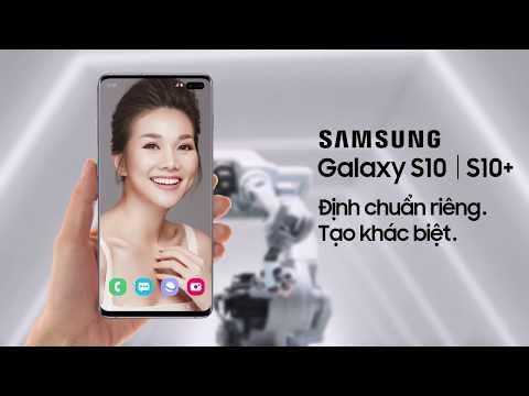 Galaxy S10 | S10+: Quét vân tay siêu âm