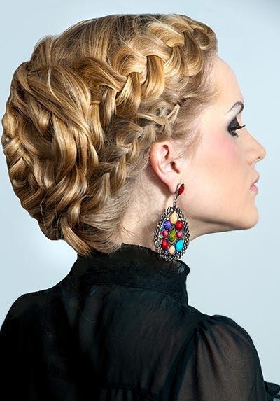 Frisuren Lange Haare Flechten Festliche Frisuren Zum Selbermachen 3