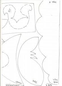 molde painel castelo princesa EVA festa aniversario sala de aula quarto meninas eva 7 (4)