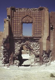 """Entrance to the """"Merchant's Palace."""" Click for more on this structure. (VirtualANI)"""