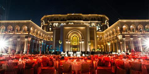 Emirates Palace Event Spaces   Prestigious Venues