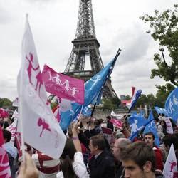 Parigi. La manifestazione contro le nozze gay