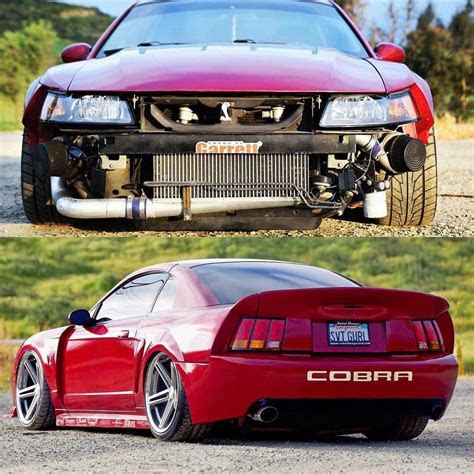 mustang cobra ford modified slammed mustangs