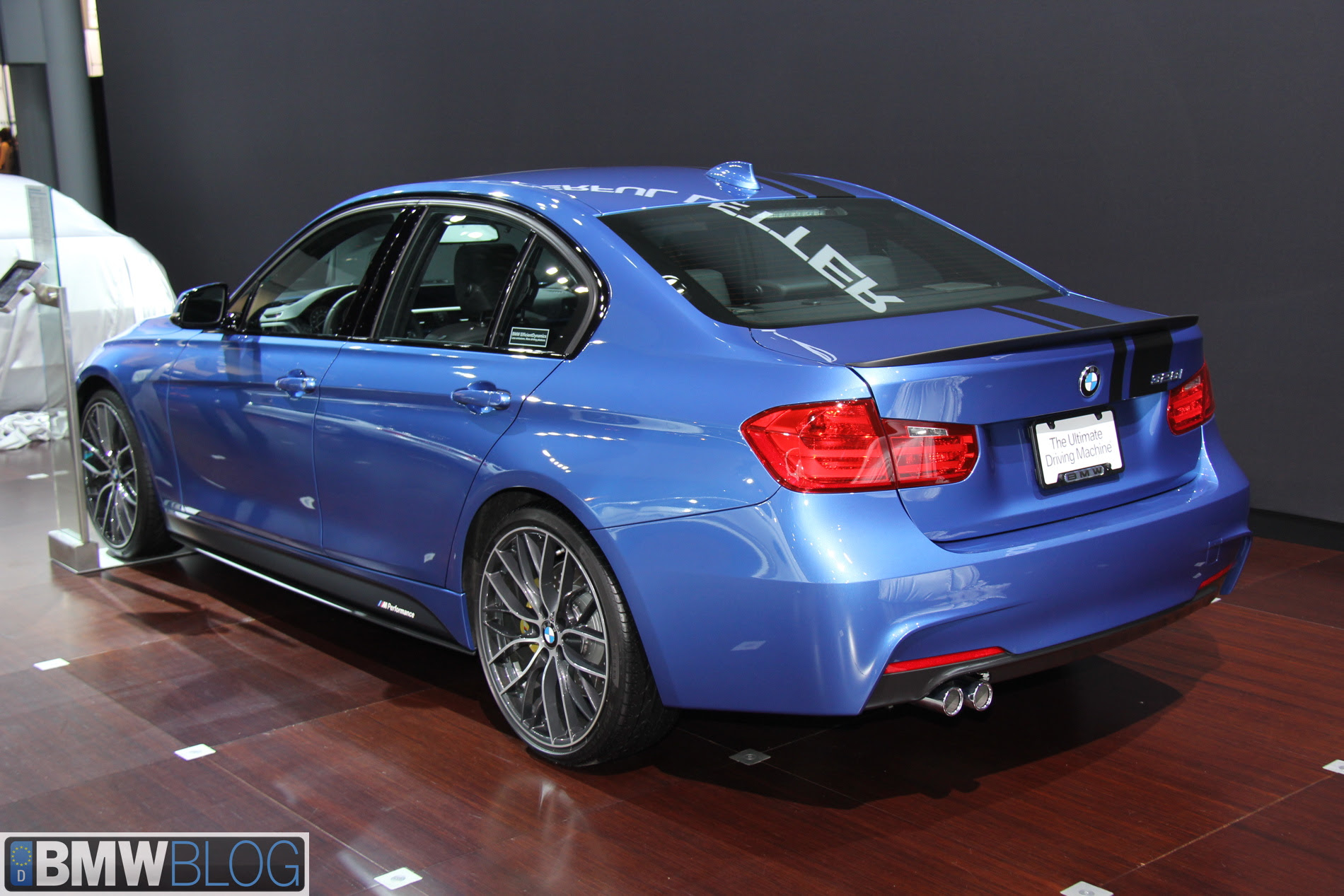 2013 NYIAS: BMW 328i M Performance Parts