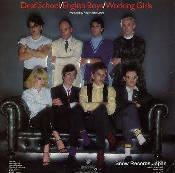 DEAF SCHOOL english boys / working girls