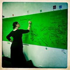 Green Whiteboard