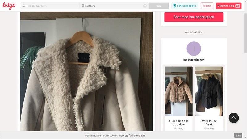 124593563 johncons: Nå er det visst mulig, å kjøpe jakkene, til min stekusine ...