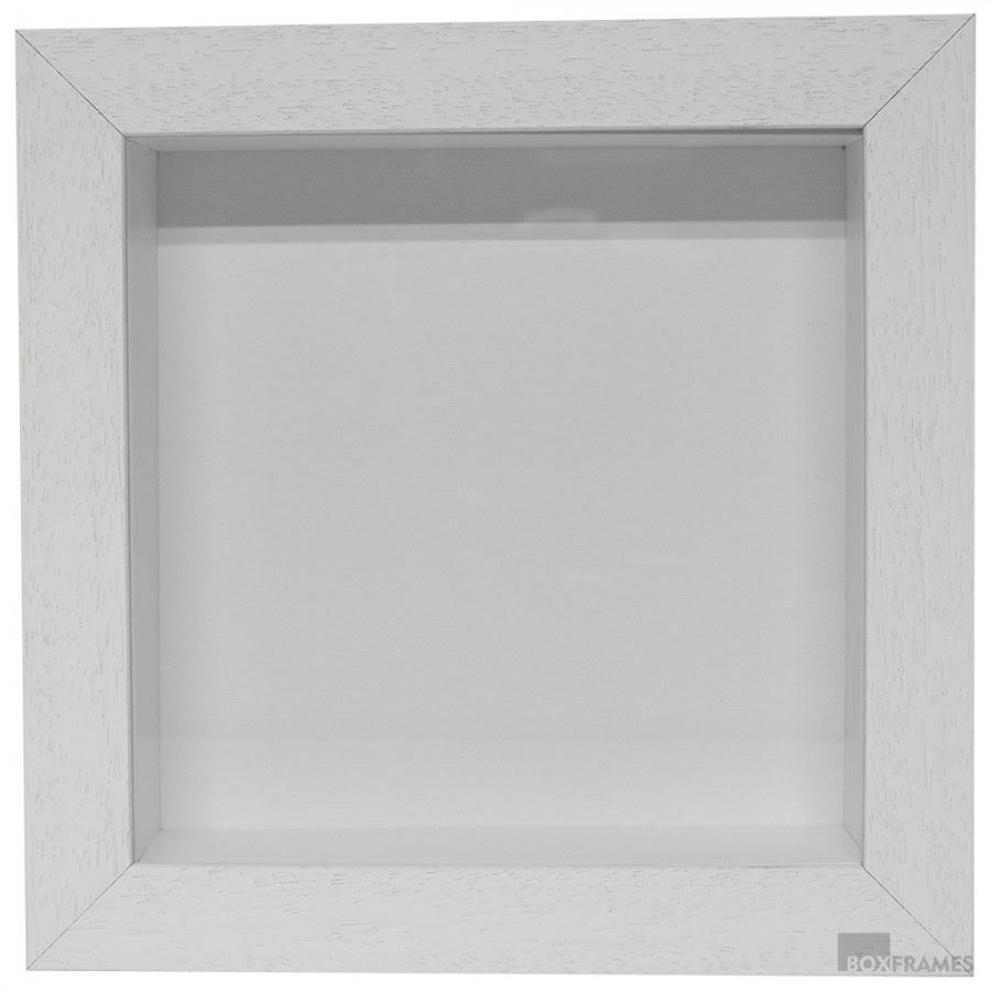 60mm White Box Frame