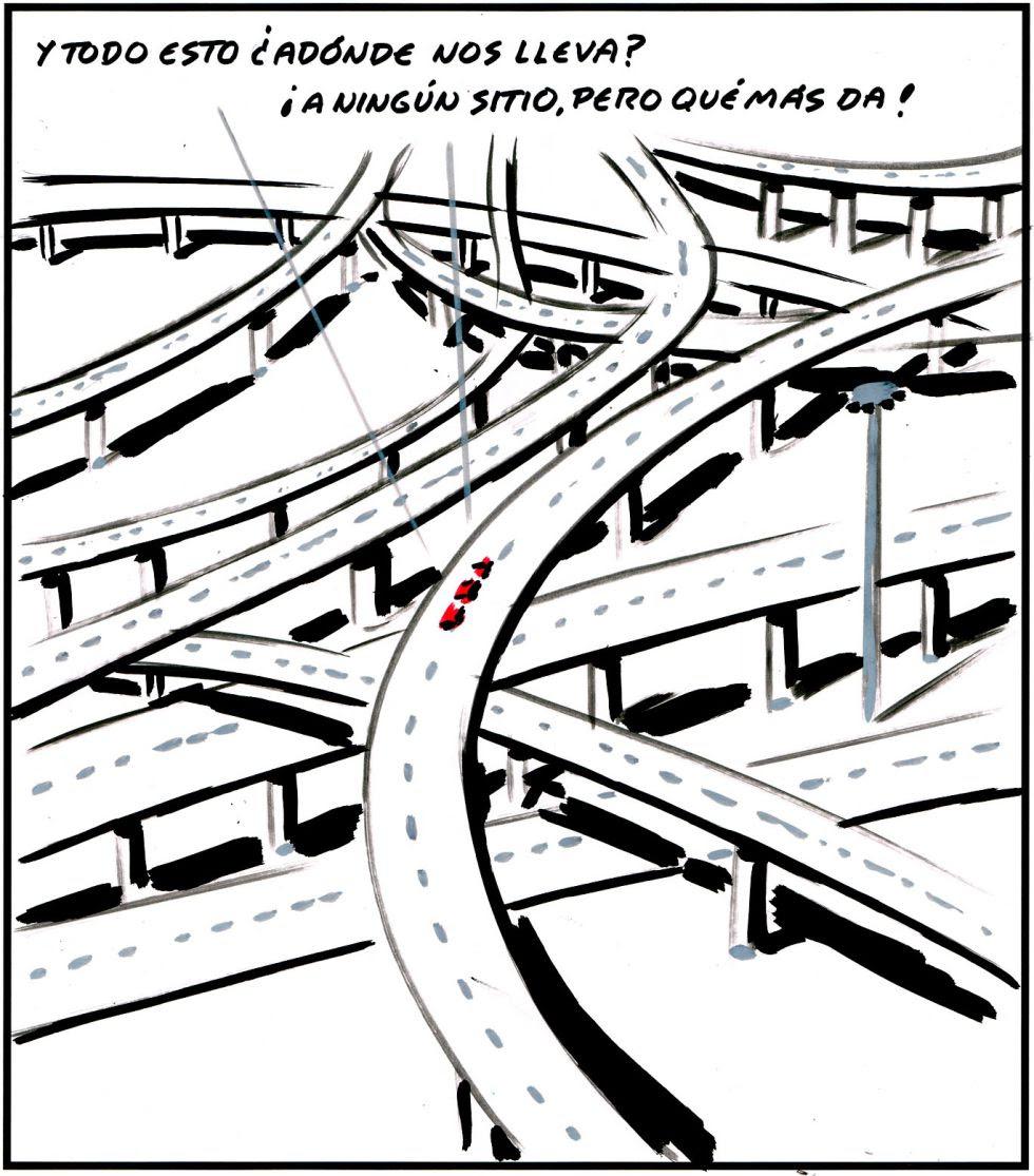 Manual para políticos: Cómo y para qué aumentar el uso del coche