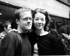 Drew Gardner and Katie Degentesh