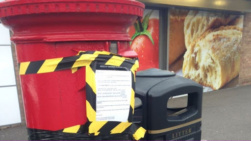 Canvey Island postboxes taped shut after keys 'misplaced'