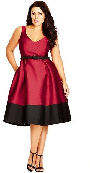 5 plus size dresses for christmas dinner  curvyoutfits