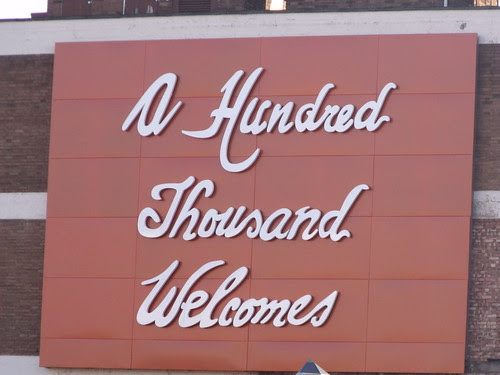 A Hundred Thousand Welcomes - Birmingham Coach Station - Digbeth