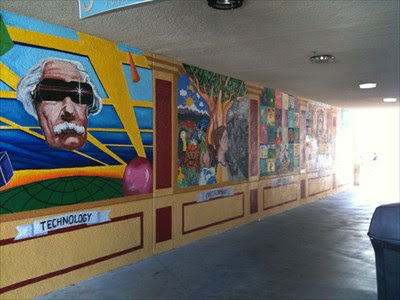 Four Murals At Csusm San Marcos Ca Murals On Waymarking Com